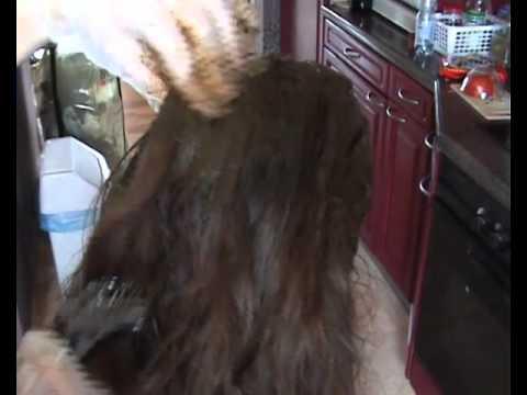 Oznacza dla curling włosy po umyciu