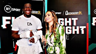 David Adeleye: 'THAT LAST PERFORMANCE WASN'T ME' | Back with a stoppage