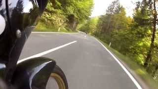 preview picture of video '2013 09 22 - vom Wiestal nach Gaissau mit einer XL600V TransAlp'