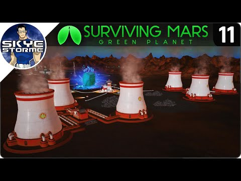 TERRAFORMING THE ATMOSPHERE! - Surviving Mars Green Planet EP 11 - Gameplay & Tips