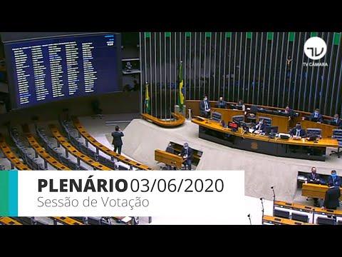Plenário - Aprovado texto-base da MP que autoriza sorteio de prêmios pela TV - 03/06/20 - 15:25*