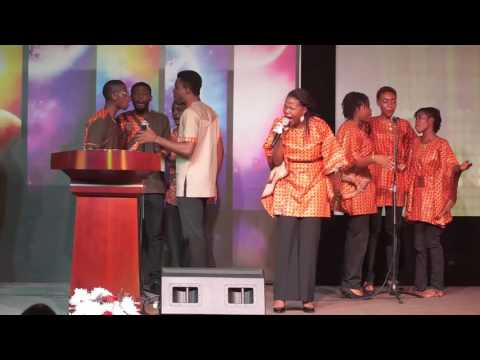 At The Centre Of It All, Performed by Rivers Of Life Choir, Household of David Church
