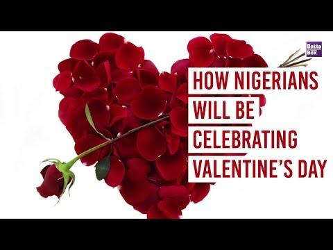 How Nigerians will be Celebrating Valentine's Day