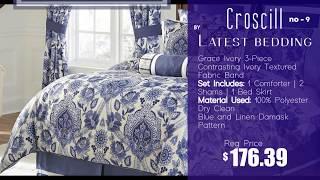 Top 10 | Luxury Comforter Set | 2020 By Latest Bedding | Croscill