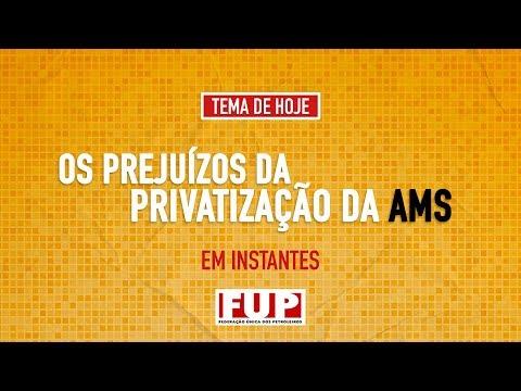 Live da FUP – Os prejuízos da privatização da AMS
