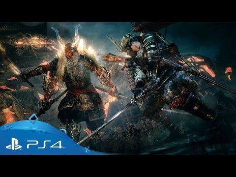 Nioh | Bloodshed's End DLC Launch Trailer | PS4 thumbnail
