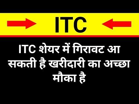 ITC शेयर में गिरावट आ सकती है । ITC Share latest news । ITC Share Share