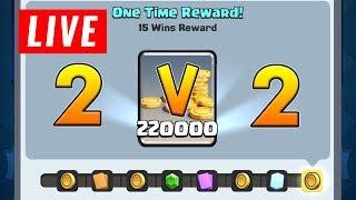 *NOVI* CHALLENGE! IDEMO PO 220.000 COINSA I LEGENDARNE KARTICE | Clash Royale | w. Dojča