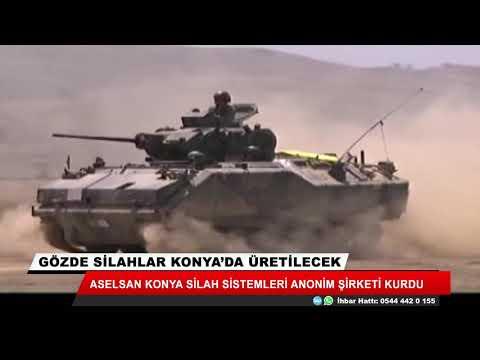 Gözde silahlar Konya'da üretilecek