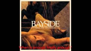 Bayside - Masterpiece - Lyrics