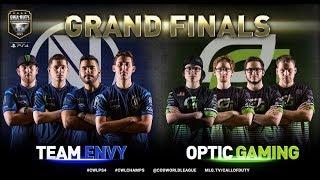 Team EnVyUs vs OpTic Gaming - Grand Finals - Bo5 #2 - CWL Championship 2017