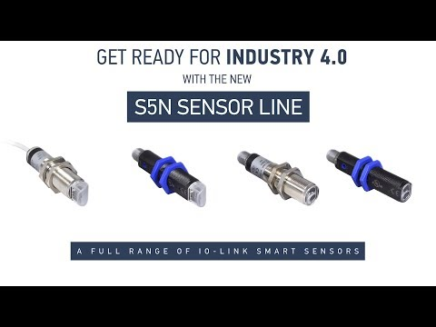Datalogic S5N, the new Smart Sensor family with IO-Link