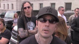 Damien Echols  is asked about murder victims families, death row & other issues