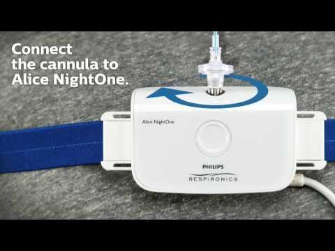 Alice Night One Home Sleep Test Study Screening Device
