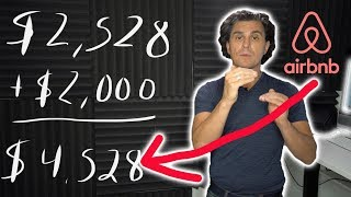 HOW TO BE AN AIRBNB HOST FULL TIME!! (mathematical breakdown)