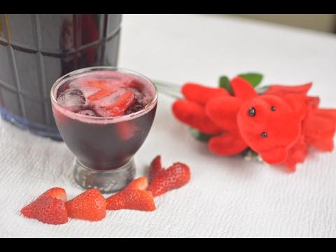 Drink Recipes: How To Make Zobo Ribena Mocktail | Afropotluck