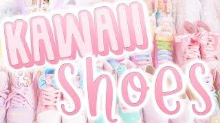 MY KAWAII SHOE COLLECTION! | Where do I buy my kawaii shoes?