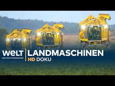 Landmaschinen - PS-Riesen im Einsatz   HD Doku