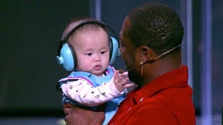 Dwyane Wade Meets Baby Named After Him