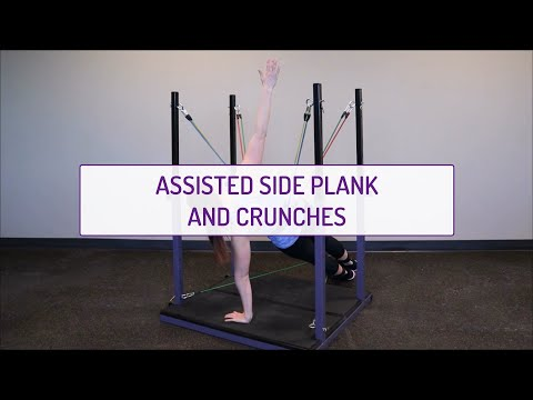 Assisted Side Plank and Crunches