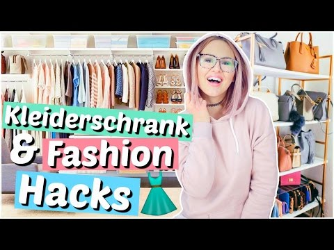die besten KLEIDERSCHRANK & Fashion HACKS | ViktoriaSarina