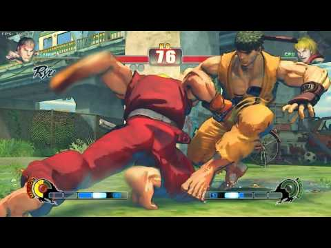 Download Street Fighter 4 Max settings HD with 9500GT HD Mp4 3GP Video and MP3