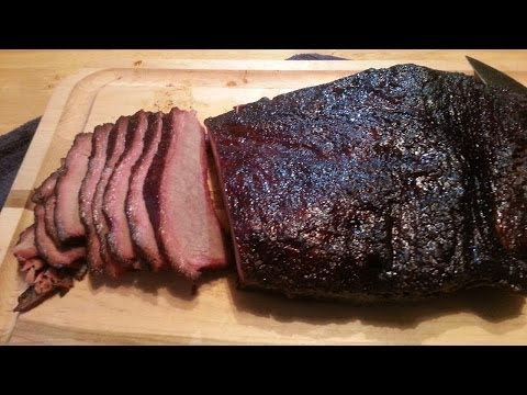Download Texas Brisket - Easiest Smoked Brisket Recipe Ever! HD Mp4 3GP Video and MP3