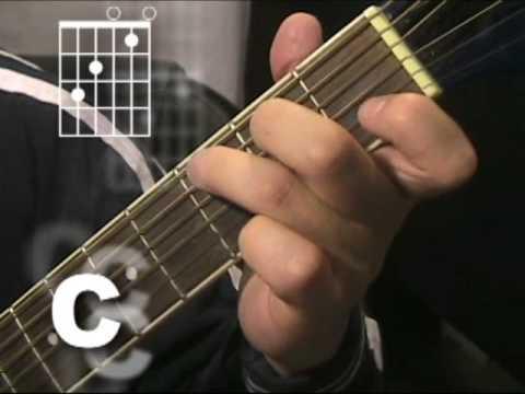Beginning Guitar:  G C D Chord Progression By David Whitestone