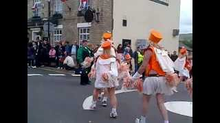 preview picture of video 'The Majorettes, New Mills Carnival 2012'