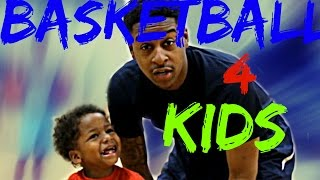 Youth Basketball Drills For Kids - 4 yr Old Player