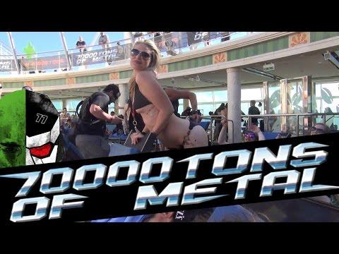 美國七萬噸重金屬音樂節 70000 tons of metal