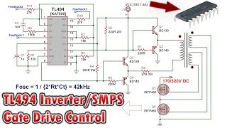 5-50V 16A Adjustable Switching Power Supply with TL494