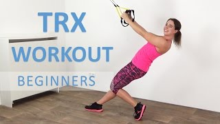 10 Minute TRX Workout For Beginners – Effective Bodyweight Suspension Training by FitnessType