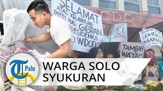 Pedagang Pasar Gede Solo Gelar Syukuran Sambut La Lembah Manah Cucu Ketiga Jokowi