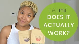 30 DAY DETOX REVIEW    BEFORE & AFTER SHOTS    TEAMI BLENDS