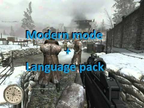 ☆Call of Duty 2-(Modern mod+language pack)☆