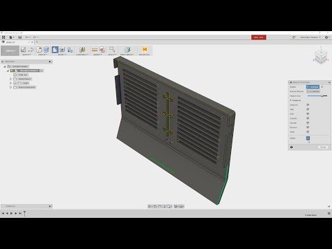 Autodesk Fusion 360 Simulation Prep for Moldflow