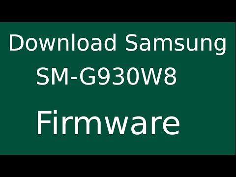 How To Download Samsung Galaxy S7 SM-G930W8 Stock Firmware (Flash