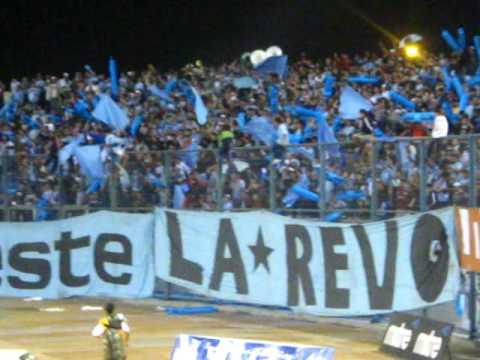 """Vamos los Dragones, La*Revo de M. Iquique"" Barra: Furia Celeste • Club: Deportes Iquique"