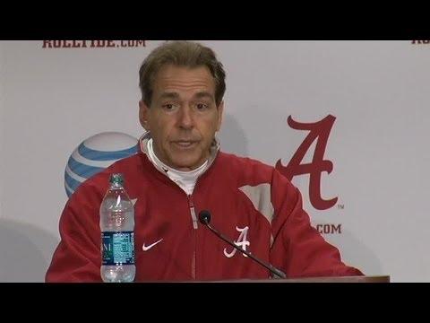 Nick Saban's full press conference after Alabama beat UTC 49-0