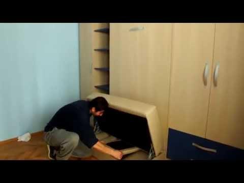 Camera cu pat rabatabil cu Canapea D 045