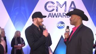 Eric Paslay Talks About His New Music // CMA Red Carpet // Country Outfitter