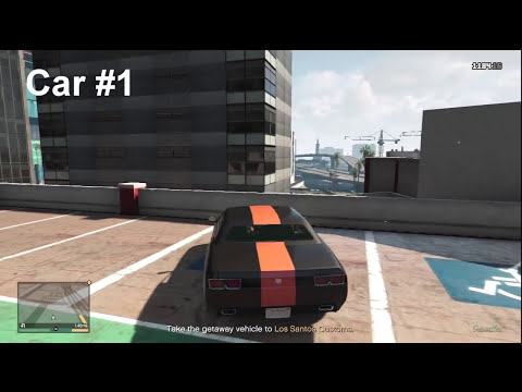 "GTA V - How To Find All 3 Gauntlets (cars) For ""The Big Score"" Mission!"