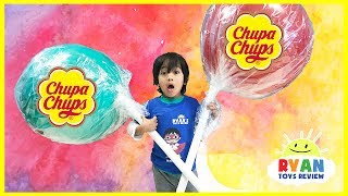 Worlds Largest Giant Chupa Chups Lollipops