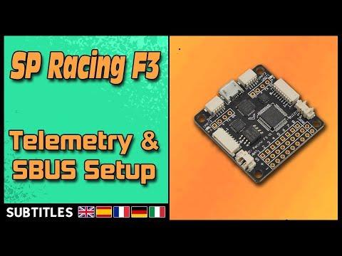 SP Racing F3 - Sbus & Telemetry Setup