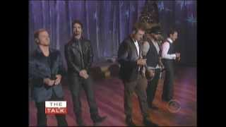 Backstreet Boys *The Talk* Christmas Time Again 11/12/12