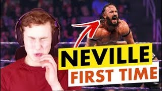 MMA FAN REACTS TO NEVILLE FOR THE FIRST TIME (the man who gravity forgot...)