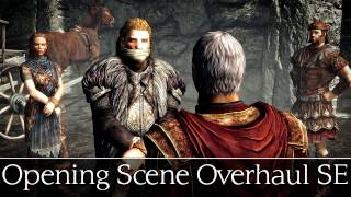 Skyrim Special Edition Mods - OPENING SCENE OVERHAUL SE - Escaping With Ulfric Stormcloak
