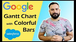 Google Gantt Chart with Colorful Bars in Salesforce Lightning