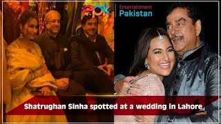 Shatrughan Sinha Visiting Lahore | Entertainment Pakistan